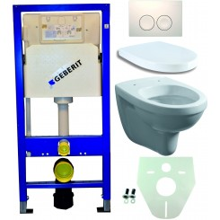 Geberit UP 100 +Trevi wc+zitt.+ Delta 21 wit