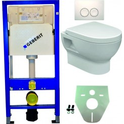 Geberit UP 100 +Mercurius wc+zitt.+Delta 21 wit