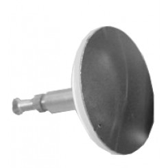 Losse plug tbv badwaste chroom