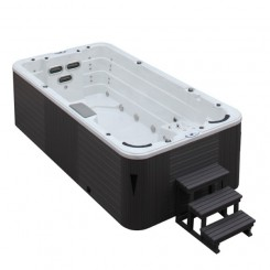EO-SPA SPA Aquacise 4.5 Sterlingsilver 400x230 cm. grijs