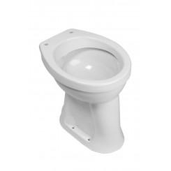 Staande verhoogde toiletpot +6 AO wit