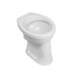 Staande verhoogde toiletpot +6 PK wit