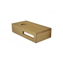 Oak planchet 400x210x100 mm. links tbv opzetfontein 20 cm