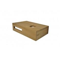Oak planchet 400x210x100 mm rechts tbv opzetfontein 20 cm