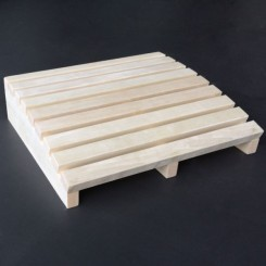EO-SPA Sauna Accessoire hoofdsteun populieren hout