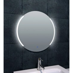 Wiesbaden Round dimbare LED condensvrije spiegel rond 600 mm