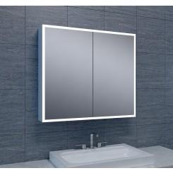 Quatro spiegelkast verlichting 80x70x13 cm.