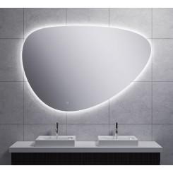 Uovo condensvrije led- spiegel dimbaar 100 cm