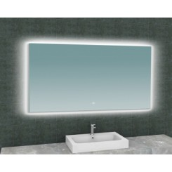 Soul spiegel met LED verlichting met verwarming 140x80 cm