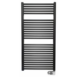 Elara elektrische radiator 118,5x60 cm mat-zwart