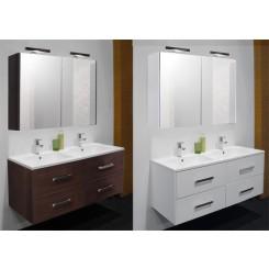 Badkamermeubel Alouette met spiegelkast