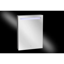 Aluma spiegelkast incl. LED verlichting  60x80 cm.