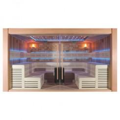 EO-SPA Sauna B1400A red ceder 400x300 cm. 15kW BiO-Cubo