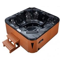 EO-SPA SPA Marquis Pearlshadow 235x235 cm. bruin met TV