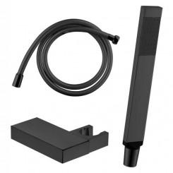 EAGO STONEART Handdouche Set 830088-1 zwart (