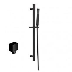 EAGO STONEART Handdouche Set 870408-2 zwart