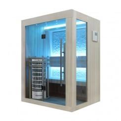 EO-SPA Sauna E1252A licht pijnboom 150x110 cm. 6.8kW Cilindro