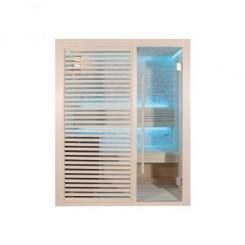 EO-SPA Sauna B1410A licht populier 180x105 cm. 3kW EOS BiO-Mini