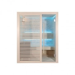 EO-SPA Sauna B1410B licht populier 150x105 cm. 3kW EOS BiO-Mini
