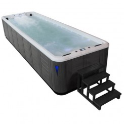 AWT Swim-SPA IN-S07B extreme SilverMarble 700x220 grijs