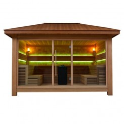 AWT Sauna LT1400B red cedar 400x350 15.8kW Vitra Combi