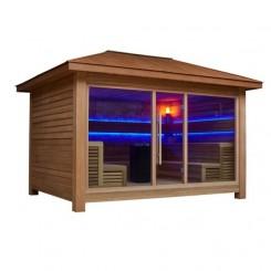 AWT Sauna LT1400D red cedar 350x250 10.8kW Vitra