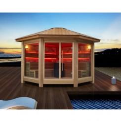 AWT Sauna LT1501B red cedar 300x300 10.8kW Vitra combi