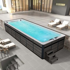 AWT Swim-SPA Innovation 800XL-T 800x300 cm. grijs