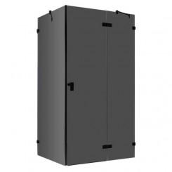 EAGO Douche LAS1200-B zwart 120x90 cm. rechts