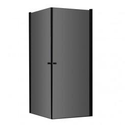 AWT Douche LCS0900 90x90 cm. zwart