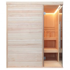 AWT Sauna E1805 pijnboomhout 180x180 cm. 8kW Vega