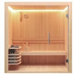 AWT Sauna E1803B pijnboomhout 150x120 cm. 6kW Vega