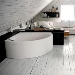 Novellini Divina C Basic hoekbad, inbouw
