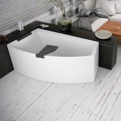 Novellini Divina O Basic hoekbad, inbouw