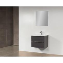 Q class meubel 60 cm black diamand natuursteen blad