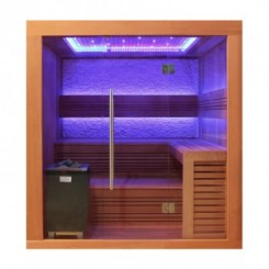 EO-SPA Sauna E1241A red cedar 220x170 cm. 9kW EOS Cubo