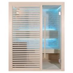 EO-SPA Sauna E1410C populier 120x105 cm. 6.8kW Cilindro