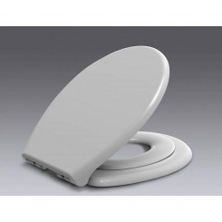 Family Soft-Close dubbele toiletzitting met deksel wit