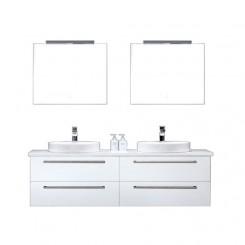 Badkamermeubel EAGO Neapel NA-1600+ wit met wit blad
