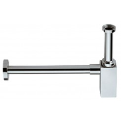 design sifon voor wastafel en fontein vierkant