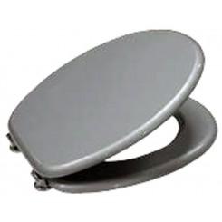 Toiletbril zilver