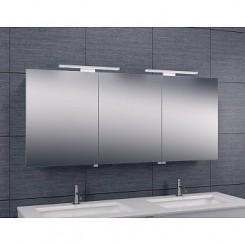 Luxe spiegelkast met Led verlichting 140x60x14cm