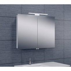 Luxe spiegelkast met Led verlichting 80x60x14 cm