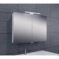 Luxe spiegelkast met Led verlichting 90x60x14cm