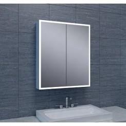 Quatro spiegelkast verlichting 60x70x13 cm.