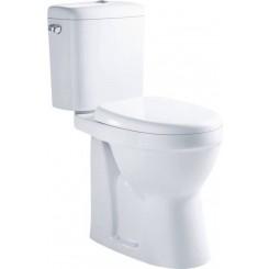 X-Joy wc Pack compleet verhoogd 47 cm staand toilet